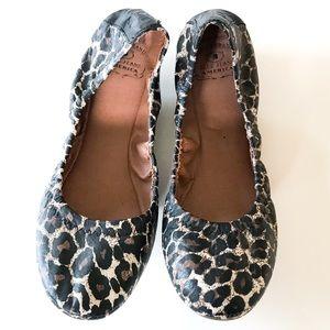 NWOT Lucky Brand Leopard Ballet Flats